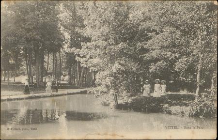 Vittel, Dans le Parc