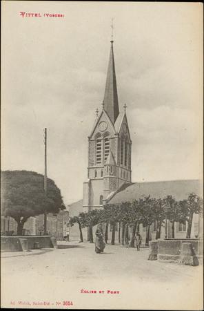Vittel (Vosges), Église et Pont