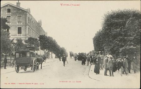 Vittel (Vosges), Avenue de la Gare