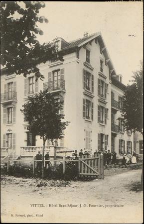 Vittel, Hôtel Beau-Séjour, J.-B. Fournier, propriétaire