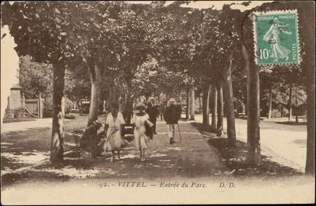 Vittel, Entrée du Parc