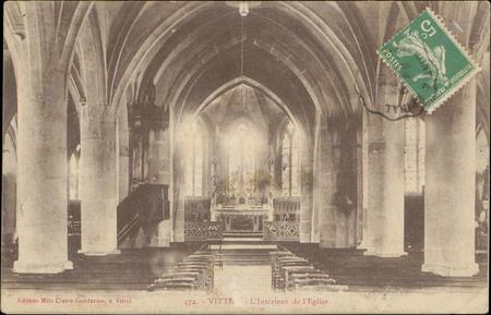 Vittel, L'Intérieur de l'Église