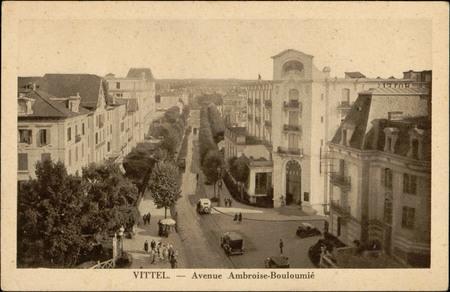 Vittel, Avenue Ambroise-Bouloumié