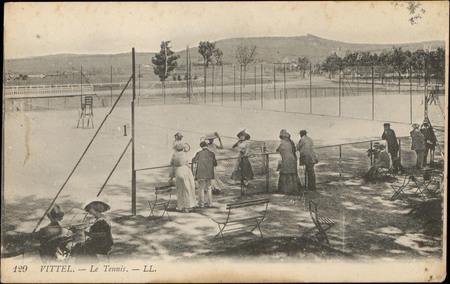 Vittel, Le Tennis