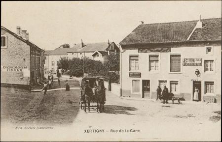 Xertigny, Rue de la Gare