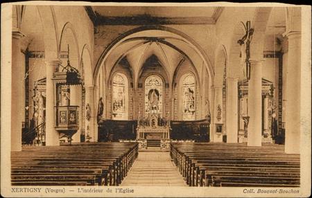 Xertigny (Vosges), L'intérieur de l'Église