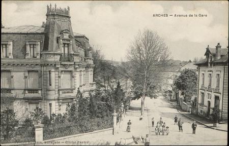 Arches, Avenue de la Gare