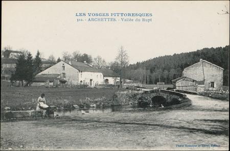 Archettes, Vallée du Rupt