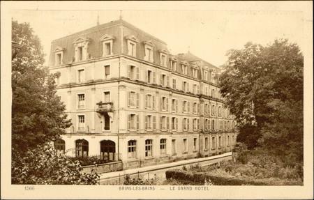 Bains-les-Bains, Le Grand Hôtel