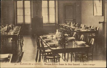 Bazoilles et Ménil, Maison Notre-Dame du Bon Conseil, Salle à manger