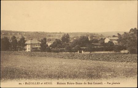Bazoilles et Ménil, Maison Notre-Dame du Bon Conseil, Vue générale