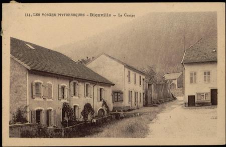 Bionville, Le Centre