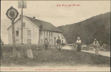 Au Col du Bonhomme, Au Poteau Frontière