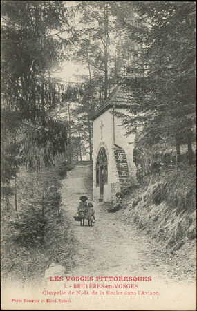 Bruyères-en-Vosges, Chapelle de N.-D. de la Roche dans l'Avison