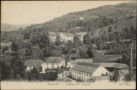 Bussang, L'Hôtel des Sources