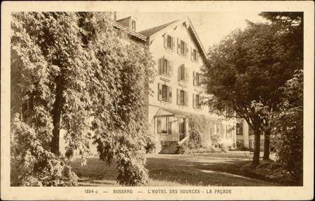Bussang, L'Hôtel des Sources, La Façade