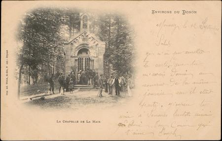Environs du Donon, La Chapelle de La Maix