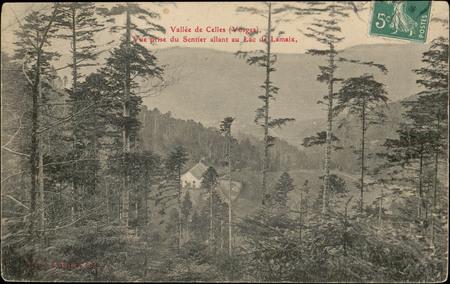 Vallée de Celles (Vosges), Vue prise du sentier allant au Lac de Lamaix