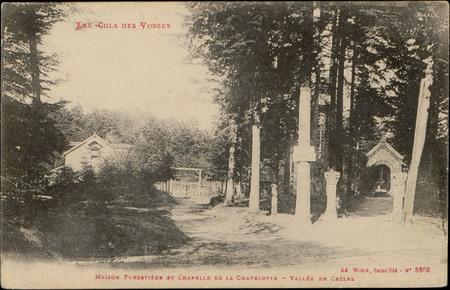 Maison forestière et chapelle de la Chapelotte, Vallée de Celles