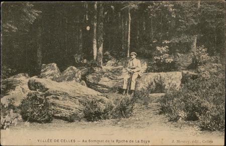 Vallée de Celles, Au Sommet de la Roche de La Soye