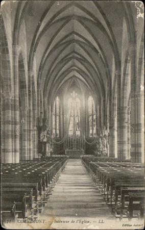Cornimont, Intérieur de l'Église