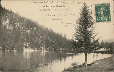 Cornimont, Lac des Corbeaux