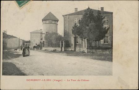 Dombrot-le-Sec (Vosges), La Tour du Château