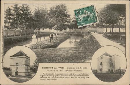 Dombrot-sur-Vair, Section de Bouzey, Canton de Bulgnéville (Vosges), Vue d…