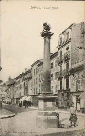 Epinal, Statue Pinau