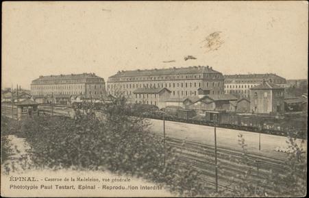 Epinal, Caserne de la Madeleine, Vue générale