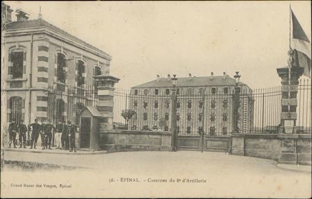 Epinal, Casernes du 8e d'Artillerie