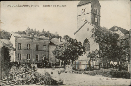 Fouchécourt (Vosges), Centre du village