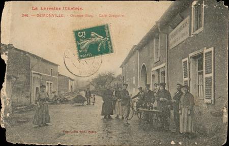 Gémonville, Grande-Rue, Café Grégoire