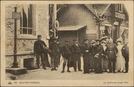 La Schlucht avant 1914