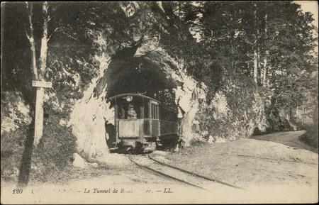 Gérardmer, Le Tunnel de Retournemer