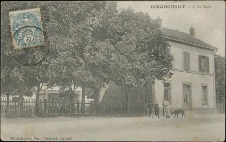 Girancourt, La Gare