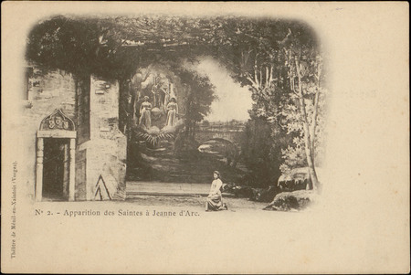 Apparition des Saintes à Jeanne d'Arc
