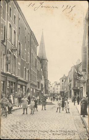 Mirecourt (Vosges), Rue de l'Hôtel de Ville
