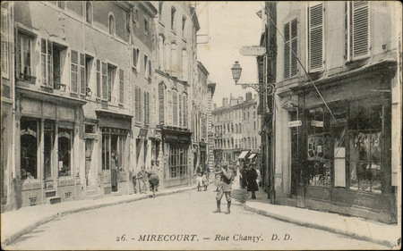 Mirecourt, Rue Chanzy