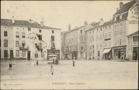 Mirecourt, Place Gambetta