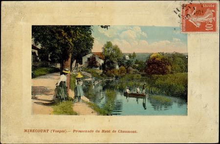 Mirecourt (Vosges), Promenade du Haut de Chaumont