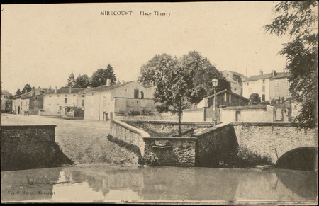 Mirecourt, Place Thierry