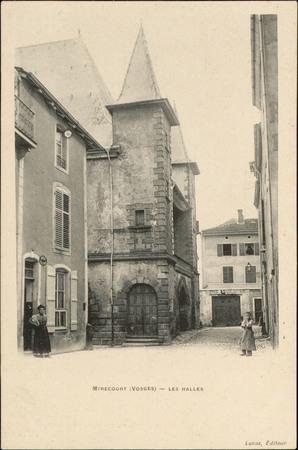 Mirecourt (Vosges), Les Halles