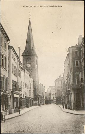 Mirecourt, Rue de l'Hôtel-de-Ville