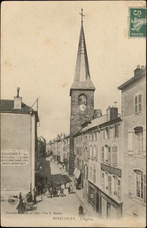 Mirecourt, L'Église
