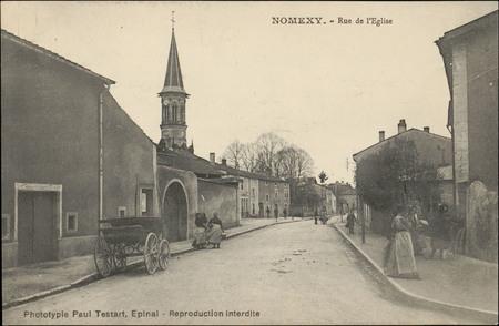 Nomexy, Rue de l'Église