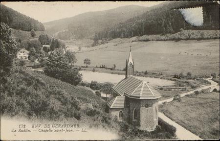 Env. de Gérardmer, Le Rudlin, Chapelle Saint-Jean