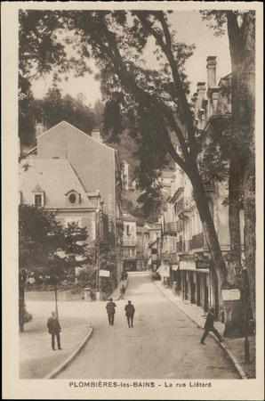 Plombières-les-Bains, La rue Liétard