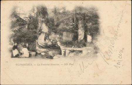 Plombières, La Fontaine Stanislas
