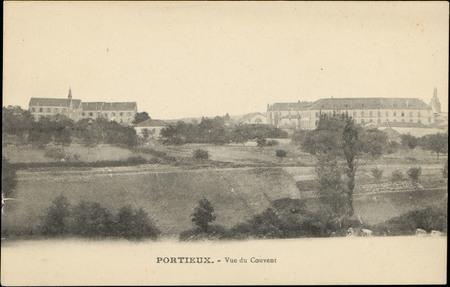 Portieux, Vue du Couvent